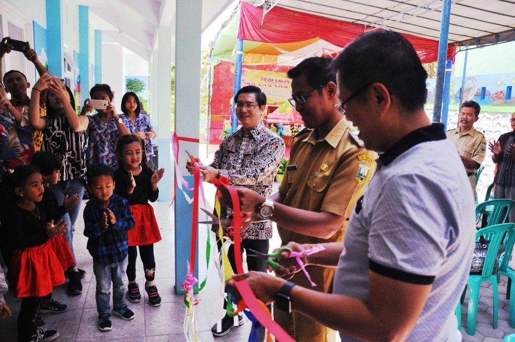 Peresmian gedung TK Imanuel Terpadu, Jlegong