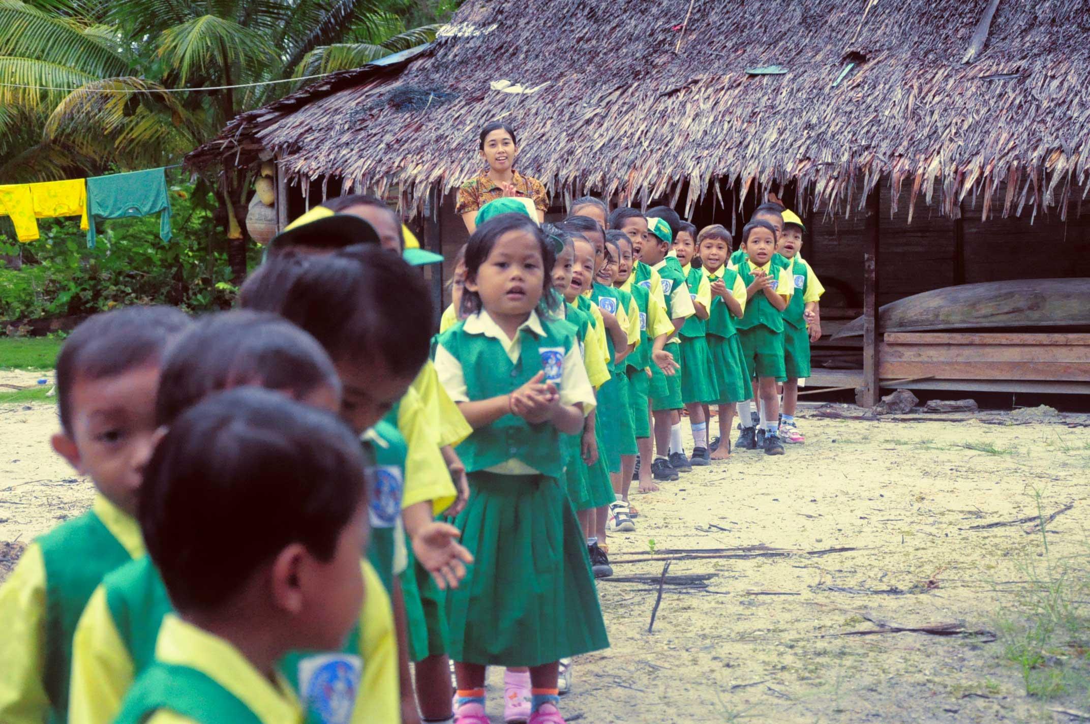 TK di Pulau Sipora, Kep. Mentawai.